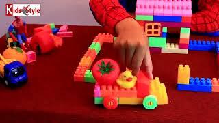 [Kids style] Siêu nhân và đồ chơi xếp hình