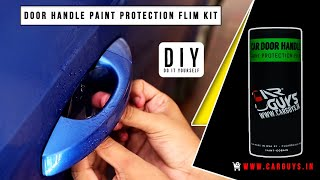 CarGuys- Door Handle Paint Protection Film Installation Video