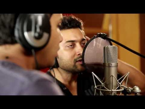 Surya singing for the first time- Watch Surya singing full unseen...