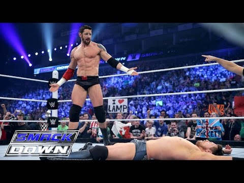 Bad News Barrett Vs. The Miz: Smackdown, April 16, 2015 video