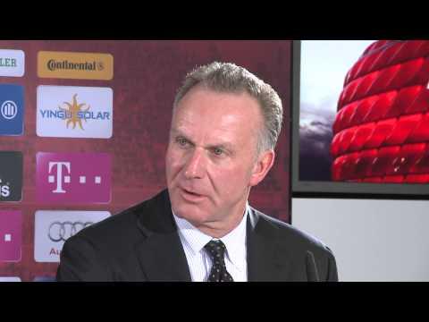 Vergabe der Euro 2020: Horst Seehofer, Christian Ude und Karl-Heinz Rummenigge im Gespräch