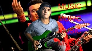 MUSIC (bang H.Rhoma Irama) cover FUNKY METAL GUITAR version