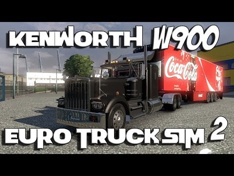 Euro Truck Simulator 2 - Kenworth W900 with Track IR