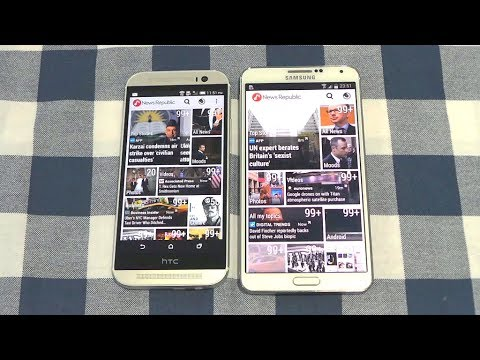 Htc One m8 vs Samsung Galaxy