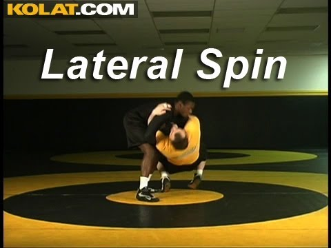 Russian to Lateral Spin KOLAT.COM Wrestling Techniques Moves Instruction Image 1