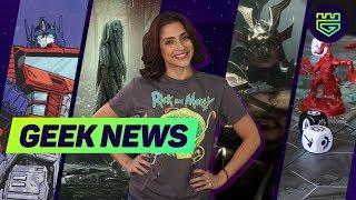 Geek News: Sekiro: Shadows Die Twice, MK11, James Gunn, La llorona, Warhammer Fantasy y mucho más.