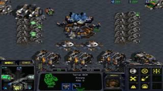 starcraft brood war 3 vs 3 fastest ( marines + medic defensa)