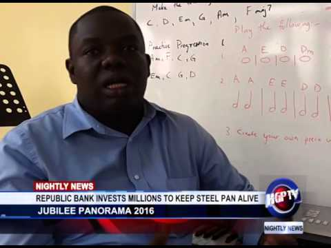 republic bank invests millions to keep steel pan alive