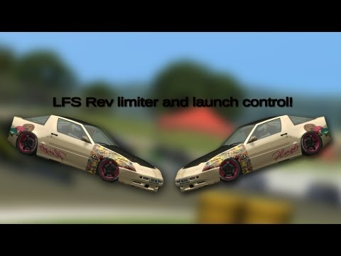 Live for Speed: Rev limiter and launch controller
