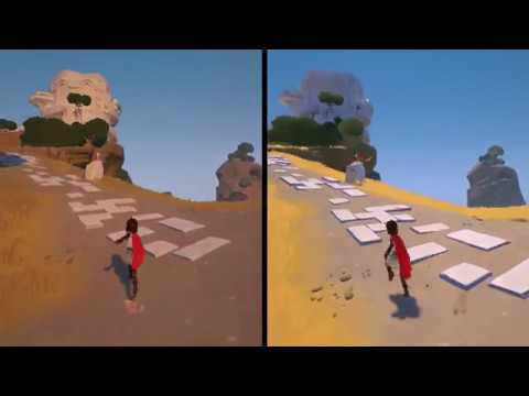 RiME for Nintendo Switch - Patch v1.02 vs. Original - Comparison Video (Direct-Feed Switch Gameplay)