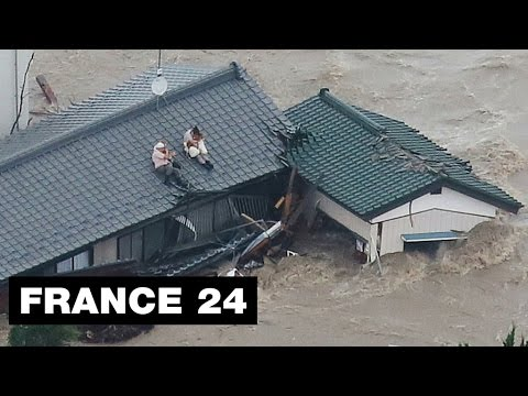 Japan: more than 100.000 people flee heavy rains and landslides, rescuers overtaken