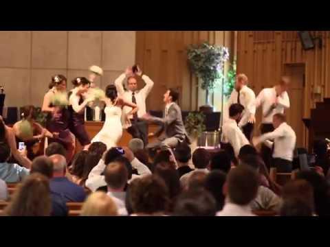 Đám cưới cô dâu chú rể nhảy Harlem Shake - DONGCAM.VN