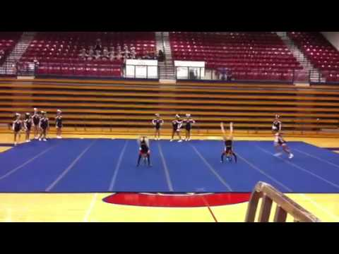 Tahlequah High School Region Cheer Competition 2011