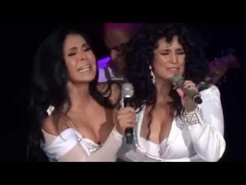 María Conchita Alonso ft. Karina - Y es que llegaste tú - GranDiosas - Auditorio Nacional (13 06 14)