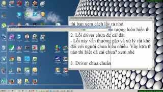 Khắc phục lỗi âm thanh cho laptop * Laptop not Audio