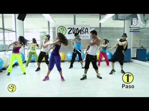 Zumba Primer Flash Mob en Chile cancion: Sube las manos pa`arriba
