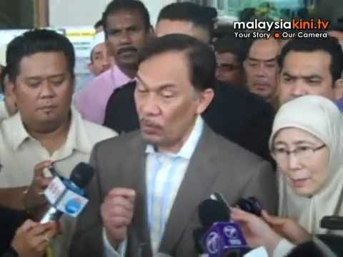 Anwar vows to fight for justice, even from jail