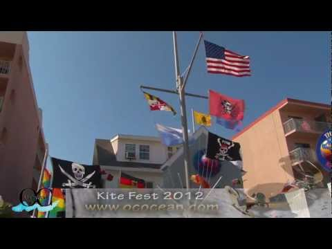 Kite Fest 2012 - Ocean City, Maryland