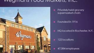 Wegmans Food Markets Presentation