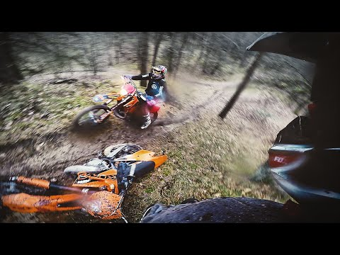 Weather can't stop us | Enduro Winter '16