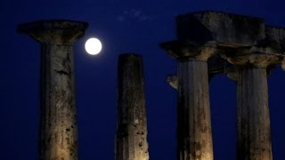 """""""Super moon"""" shines bright for second time this year"""