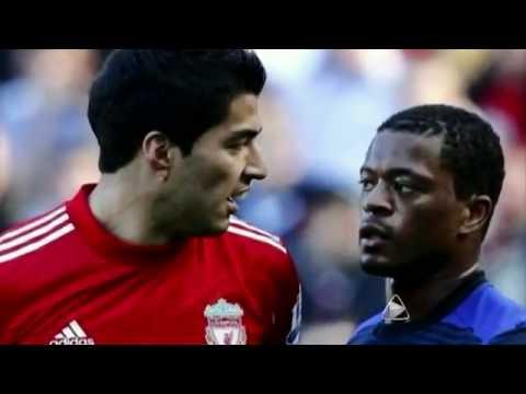 Racismo uruguayo, Luis Suárez a Patrice Evra: