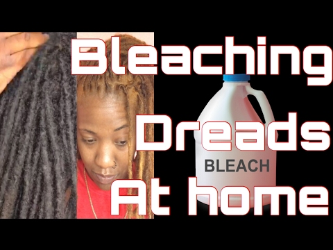 The best way to bleach dreads