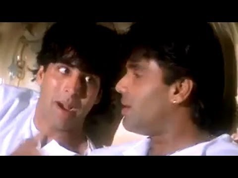 Akshay and Sunil talks about love - Sapoot Scene
