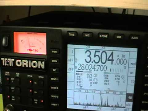 7O6T - Yemen - 80MT CW - Yaesu FTdx5000mp Vs Ten Tec orion -