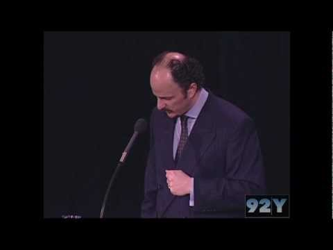 0 Jeffrey Eugenides at 92nd Street Y