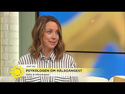 """""""Den som har hälsoångest kan ha svårt att klara vardagen"""" - Nyhetsmorgon (TV4)"""