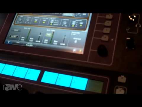 InfoComm 2013: Allen & Heath Shows the GLD-112 Mixing Console
