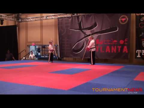 Team East West Karate 1 Team Sync at Battle of Atlanta 2013