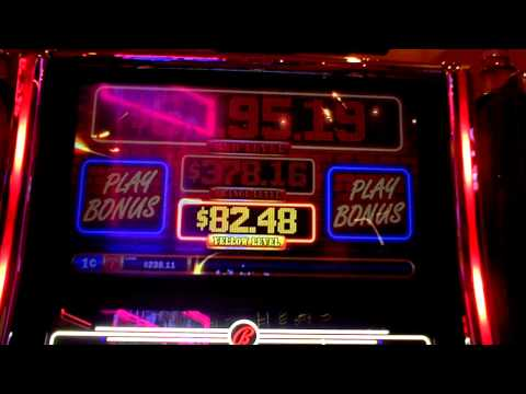 Code Red Yellow Progressive on slot machine at Parx Casino