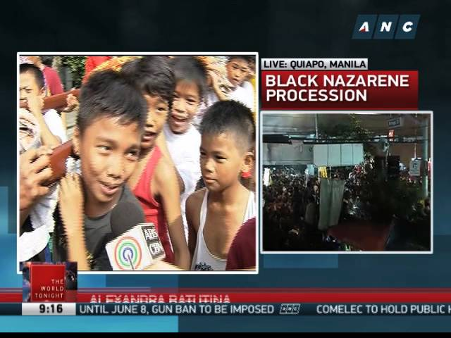 Devotees want to pass on Nazarene devotion to their children