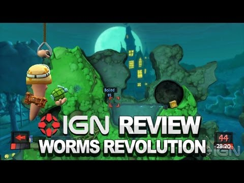 Worms Revolution Video Review - IGN Review