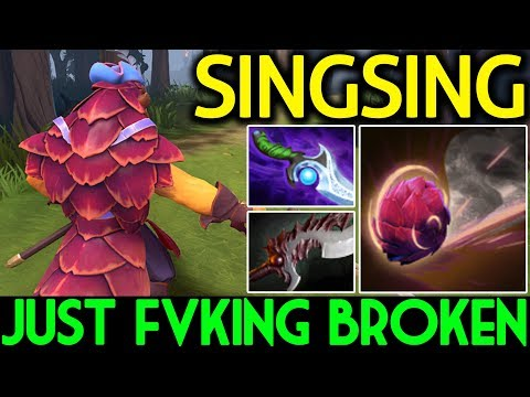 SingSing Dota 2 [Pangolier] Roaming Pos 4 | Just Fuking Broken