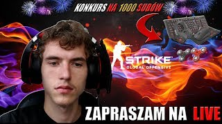 Counter-Strike: Global Offensive z widzami plus konkurs