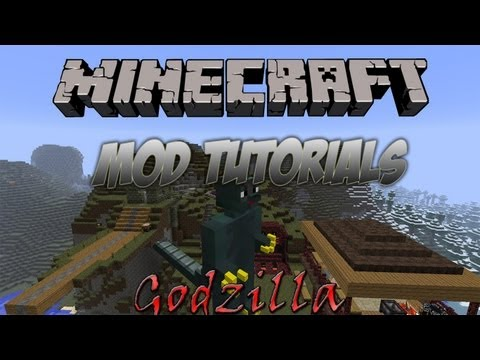 Minecraft 1.5.2   How To Install The Godzilla Mod