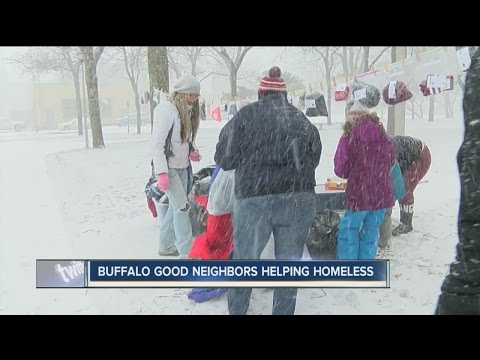 Organization helps homeless, provides hats, mittens