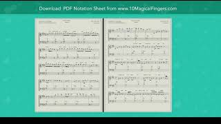 Teri Galiyon Mein (Hawas) Piano Staff Notations + Chords | PDF