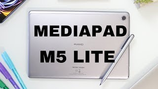 HUAWEI MEDIAPAD M5 LITE UNBOXING - BEST BUDGET ANDROID TABLET 2019?