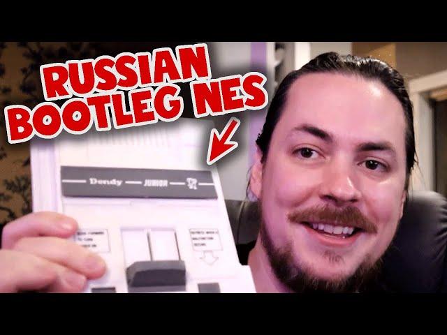 Russian BOOTLEG Nintendo games!