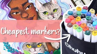 SUPER CHEAP MARKERS & COLOR PENCILS - OHUHU Art Supplies