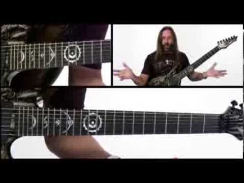 Lesson Guitar - Rusty Cooley Style Of Picking