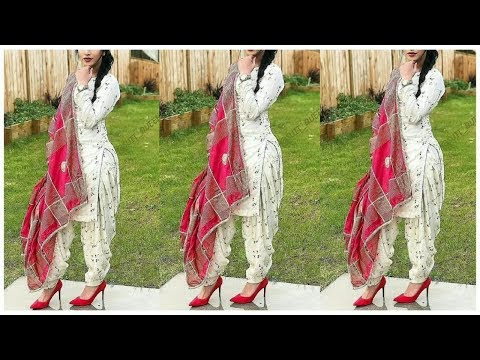 Beautiful Salwar Suit Designs || Latest Punjabi Salwar Suit Designs ||  Punjabi Suit Designs Idea