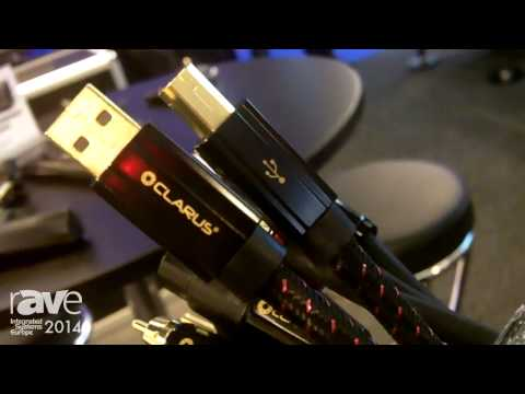 ISE 2014: Clarus Cable Shows New USB Cable for Downloading Audio Files with Low Distortion