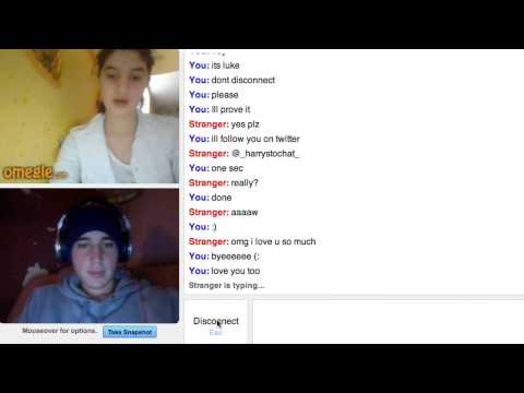Luke Brooks Undercover On Omegle video