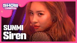 Show Champion Ep 285 Sunmi Siren
