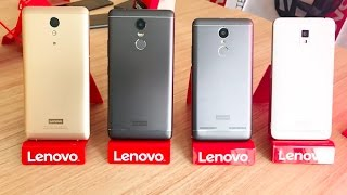 Lenovo A6600, P2, K6 Power and K6 Note hands-on video by TechNave.Com